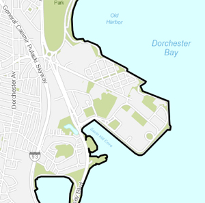 Map of Harbor Point