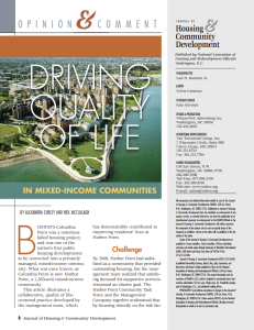 N-P4-Driving Quality of Life in Mixed-Income Communities